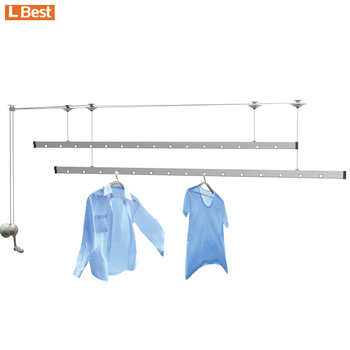 classic lifting ceiling mounted manual laundry drying rack buy