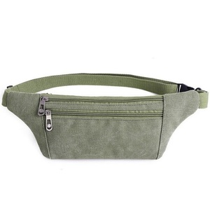 Premium Multi-function Professional Unisex Waist Bag Daily Light Custom Canvas Fanny Pack