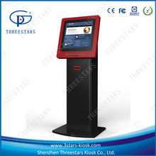indoor public usage LED or LCD touch screen kiosk vendor