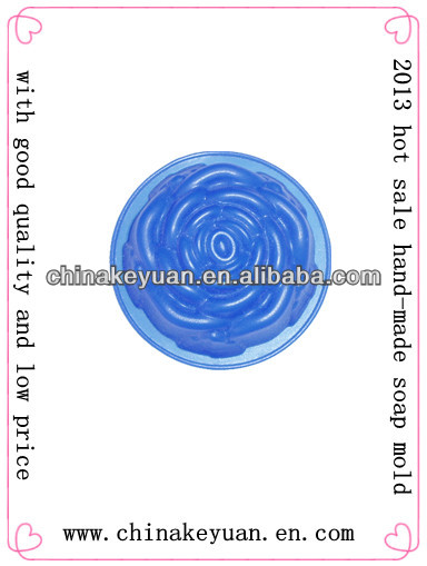2013 hot sale hand-made silicone soap mold