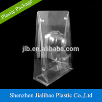 custom cheap clear pvc plastic clamshell blister packaging
