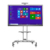 smart whiteboard for remote meetings with lan, wifi, camera, mirroring, especially for finance, teaching, government use