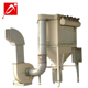 Automatic baghouse cement silo microwave extraction system