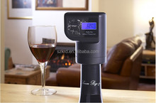 smart Intelligent Automatic Wine whiskey champagne Preserver Electric Vacuum Pump Digital Temperature for wine lover