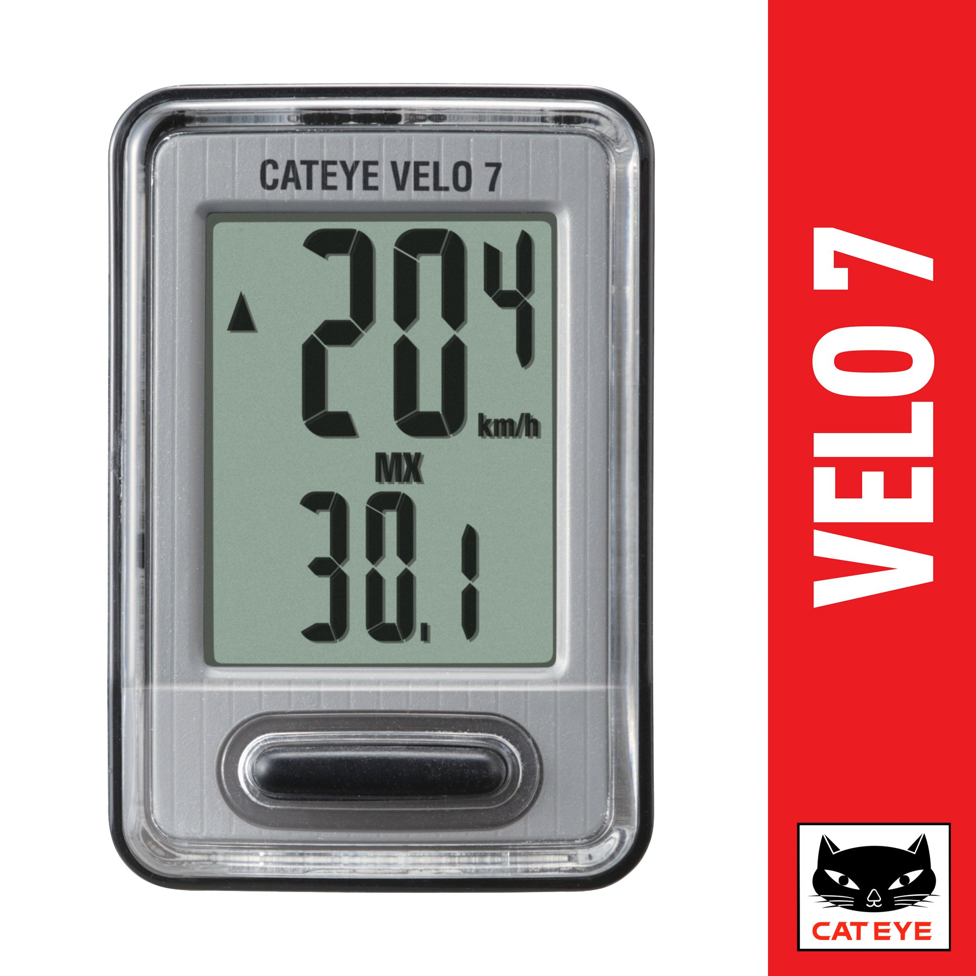 Cheap Cateye Velo 7 Wireless Find Deals On Spidometer Strada Cadence Get Quotations Cyclocomputer
