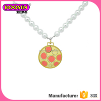 Wholesale cheap girls jewelry, personalized glass bead necklaces