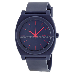 Smart Men's Time Teller Nixoning Cheap Plastic Man Wrist Watch