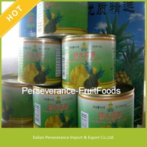 Hot Sale Vietnam Canned Fruits Slice Pineapple in Syrup