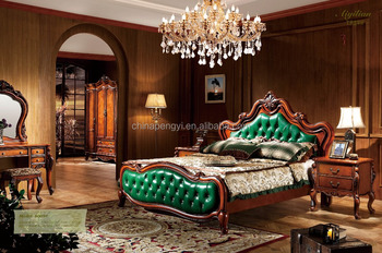 High Quality Leather Bed Of Modern Bedroom Furniture Home Set New Model Product On Alibaba