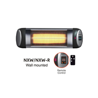 Waterproof remote control wall mounted portable mini outdoor Electric Infrared Heater