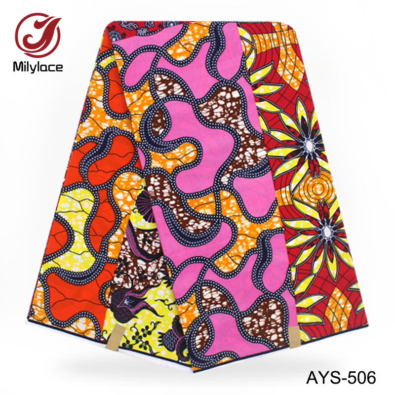 African 100%cotton super cotton wax prints fabric hollandaise printed fabric