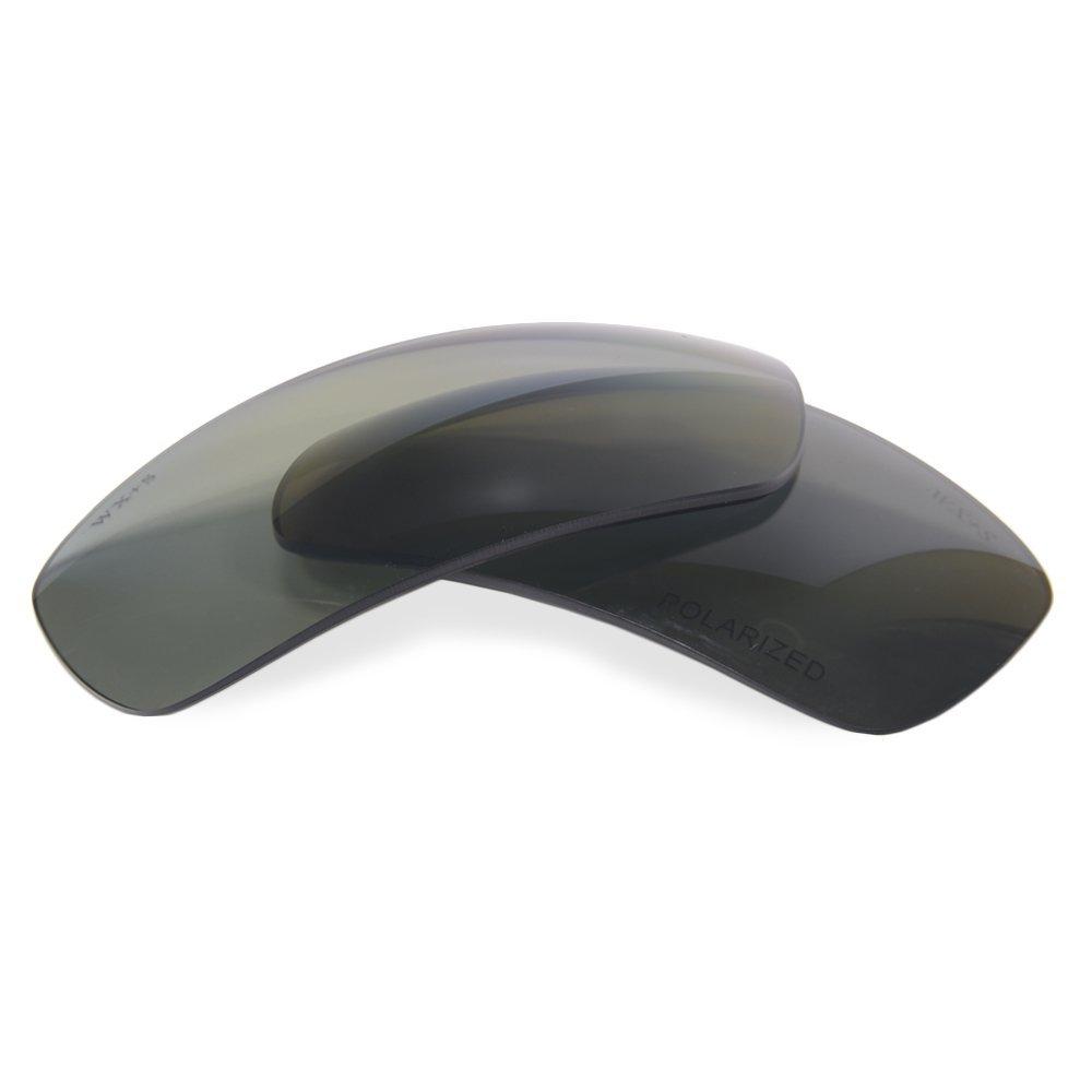 Wiley X Slay Polarized Silver Flash Smoke Replacement Lenses ACSLAP