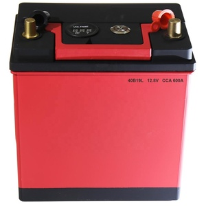 40B19L 40B19R 40Ah Lithium Ion Maintenance Free High Performance 12V Emergency Super Capacitor Jump Starter Car Battery