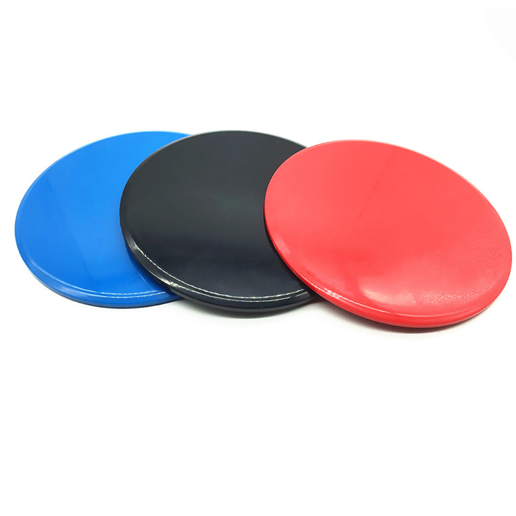 Different Shape fitness sliding discs Gliding Discs Plastic Core Sliders
