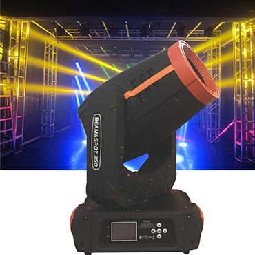350W 17R Double Prism Sharpy Beam Wash Spot 3 in 1 Moving Head Stage Light