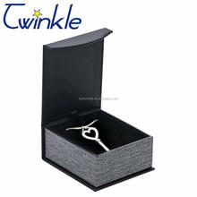 Custom Logo Cardboard Magnetic Close Small Paper Jewelry Necklace Gift Box Jewelry Packaging Box For Jewelry