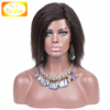 High Density Natural Color Kinky Straight Wig Short Hairstyles For Black Women Brazilian Kinky Straight Hair Wig