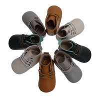 2019 Wholesale Real Leather Soft Sole Prewalker Children Shoe Baby Lace Up Oxford Shoes