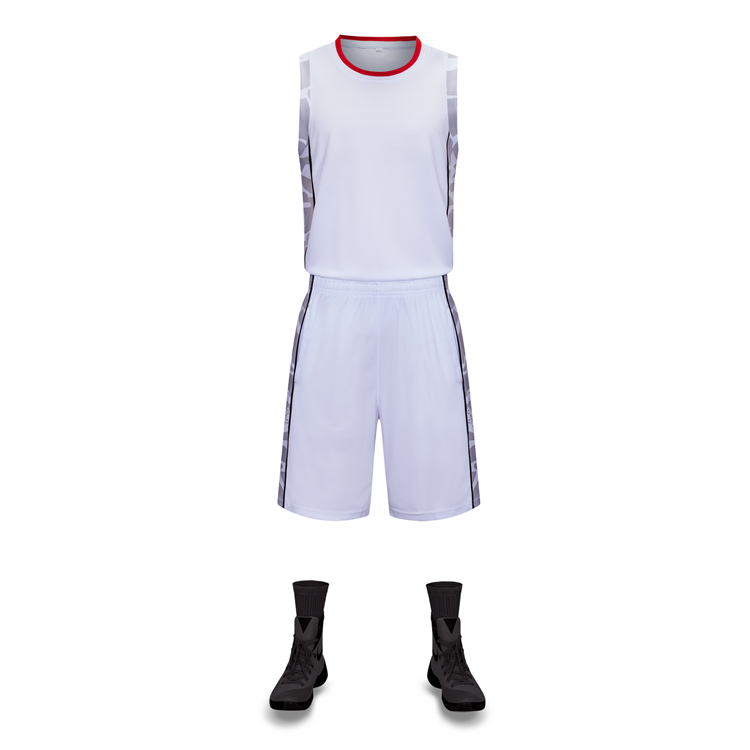Angepasst Sublimation Druck 100% Polyester Schnell trocknend Netto Basketball Jersey Uniform Design Basketball Uniform