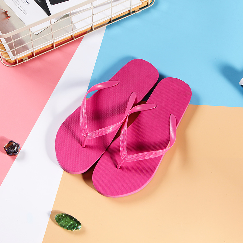 wholesale custom women wedding flip flops beach slippers eva rubber cheap black flip-flops for ladies