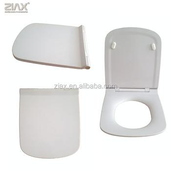 black square toilet seat. Dura Square slim design duroplast toilet seat  View OEM