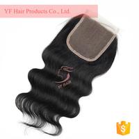 short brazilian hair front lace closure, human hair topper hair closure, lace closure with baby hair