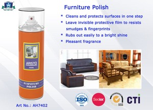 Non Toxic Multi Colors Household Cleaners Leather Furniture or Shoe Polish Spray