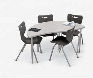 Combination student desks creator tables fit any classroom