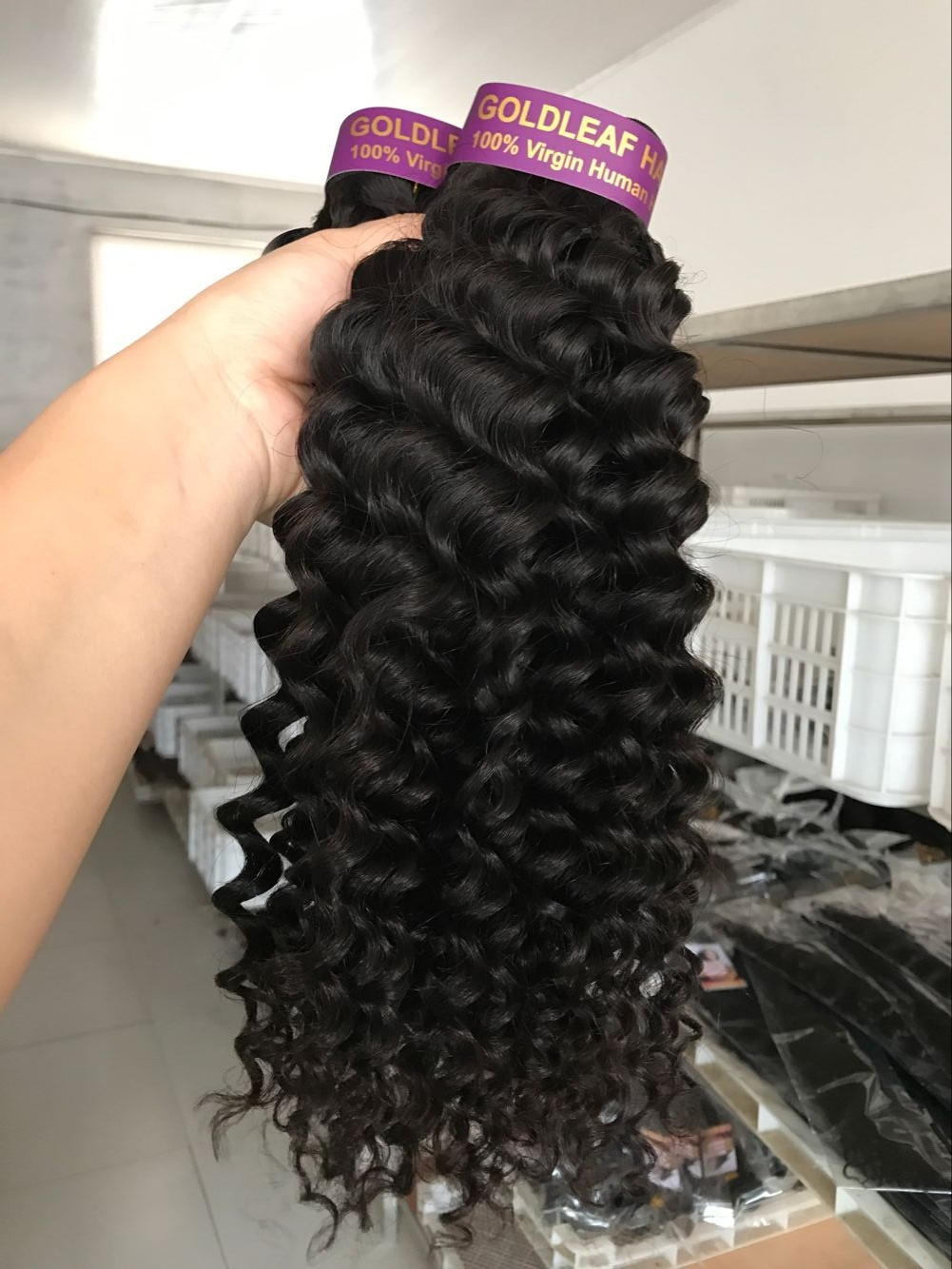No tangle no shedding grade 9A brazilian virgin cuticle aligned hair