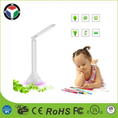 Fold Touch Control LED Light Automatic Cyclet Atmosphere USB Rechargeable LED Desk Lamp
