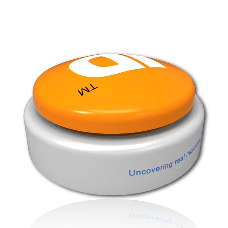 Ghi tùy chỉnh bằng giọng nói hộp báo chí vòng buzzer nút red buzzer nút