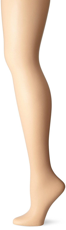 No Nonsense Womens Control Top Reinforced Toe Pantyhose