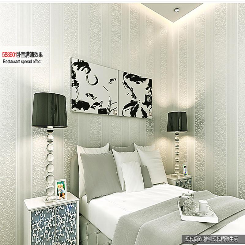 Grigio pareti camera da letto acquista a poco prezzo for Stoffa da parati