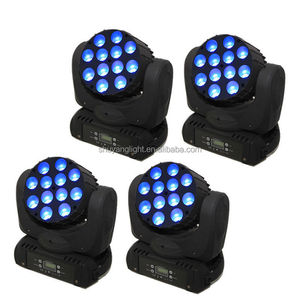 Factory outlet 12x10w rgbw 4in1 led moving head beam light stage light dmx