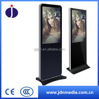 43 49 55 inch mall indoor floor standing vertical lcd LED android media digital signage advertising player display