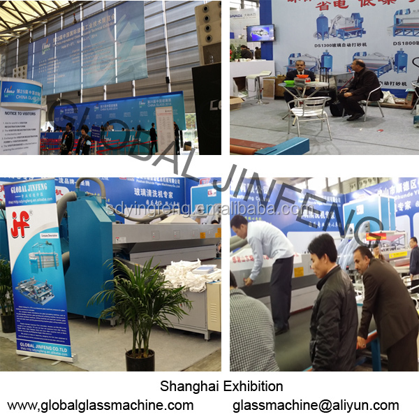 JFW-2500 Industrial Low-e glass washing cleaning machine from Guangdong