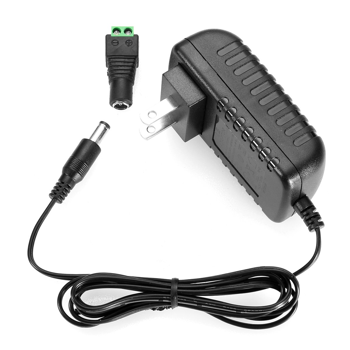 Cheap 12v 1 Amp Adapter Find Deals On Line At 15 Volt Regulated Power Supply Get Quotations Le Dc 2a Ac 100 240v To Transformers