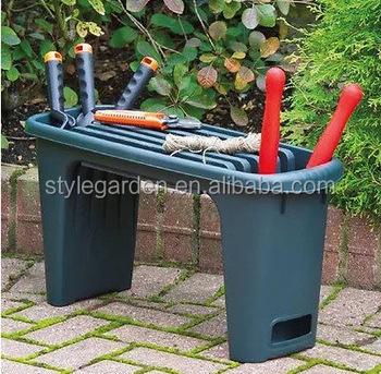 350KG Plastic Garden Gardening Kneeler Bench Seat Stool