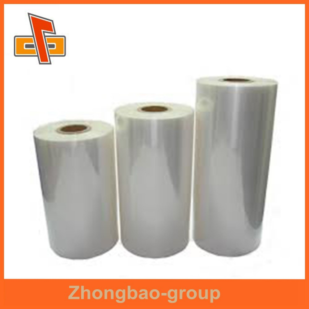Packaging material guangzhou manufacturer plastic PET food grade airtight packing shrink wrap film for meat packing