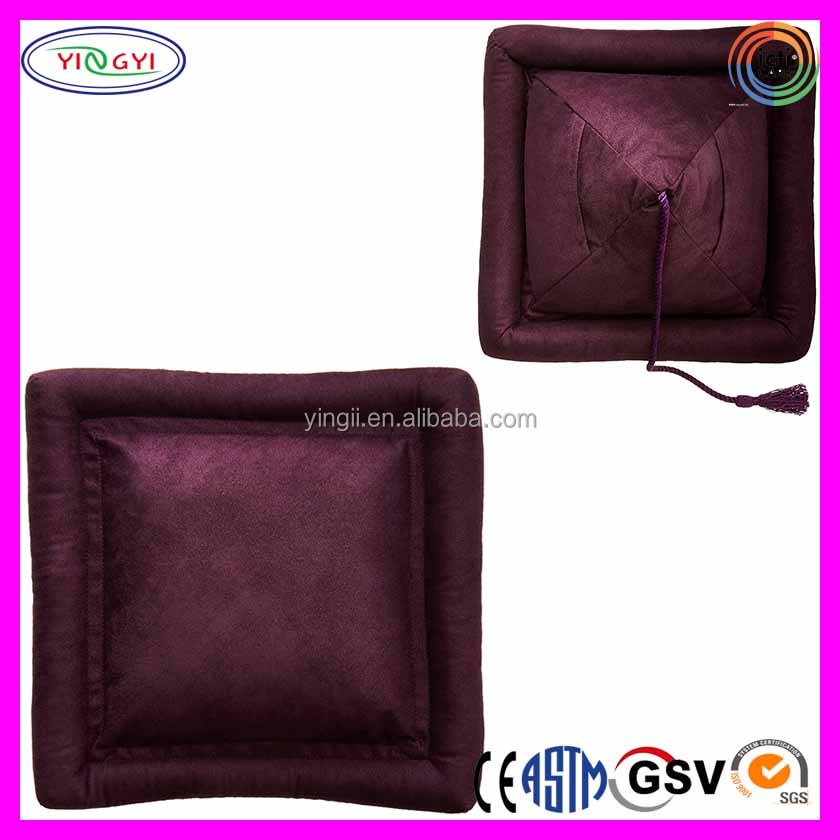 E477 Comfortable Reading Anywhere Premium Reading Pillow Wall Eggplant Soft Pillow for Reading