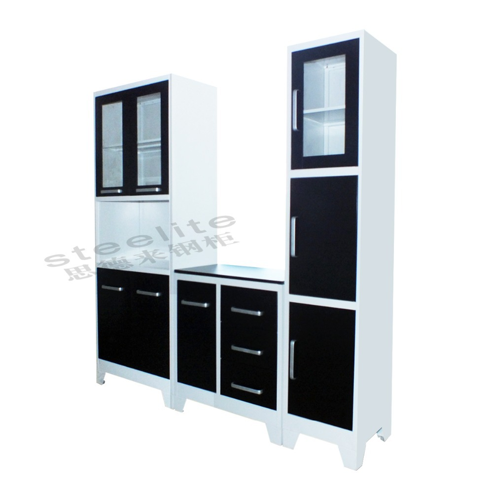 Knockdown Kitchen Cabinets: Knock Down High Quality Modern Steel Kitchen Cabinet With