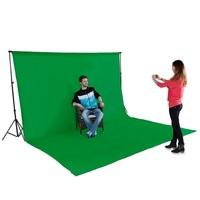 Green Muslin 3m x 6m Photo Backdrop 100% Cotton Background Chroma Key Screen Backdrop