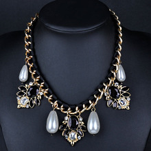 Fashion imitation jewellery collares de moda