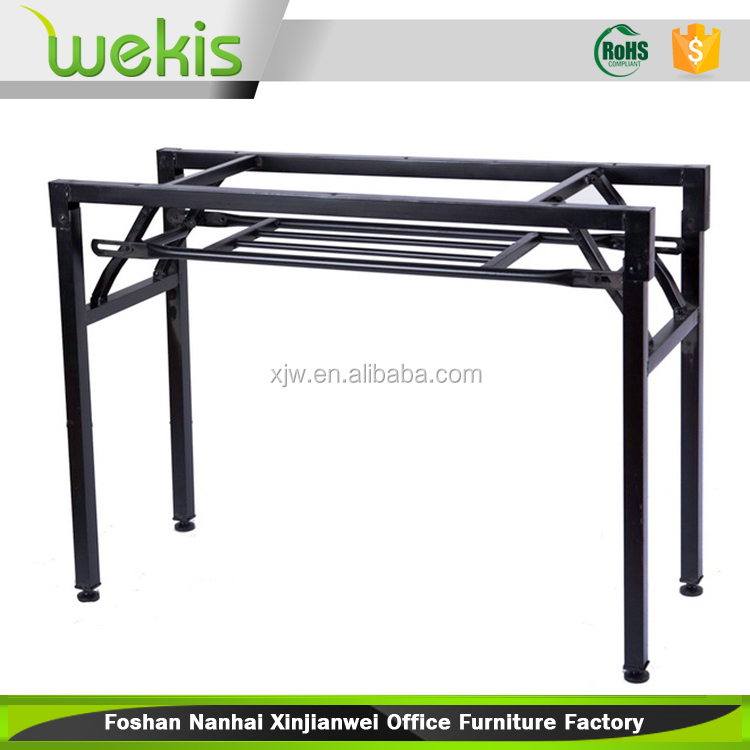 folding steel table frame folding steel table frame suppliers and manufacturers at alibabacom