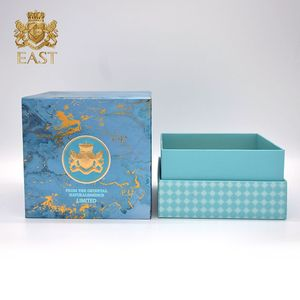 Eastbox. Custom Luxurious perfume boxes Hardcover Bottle Box Texture Perfume Package For Brand Perfume For Amber glass Bottle