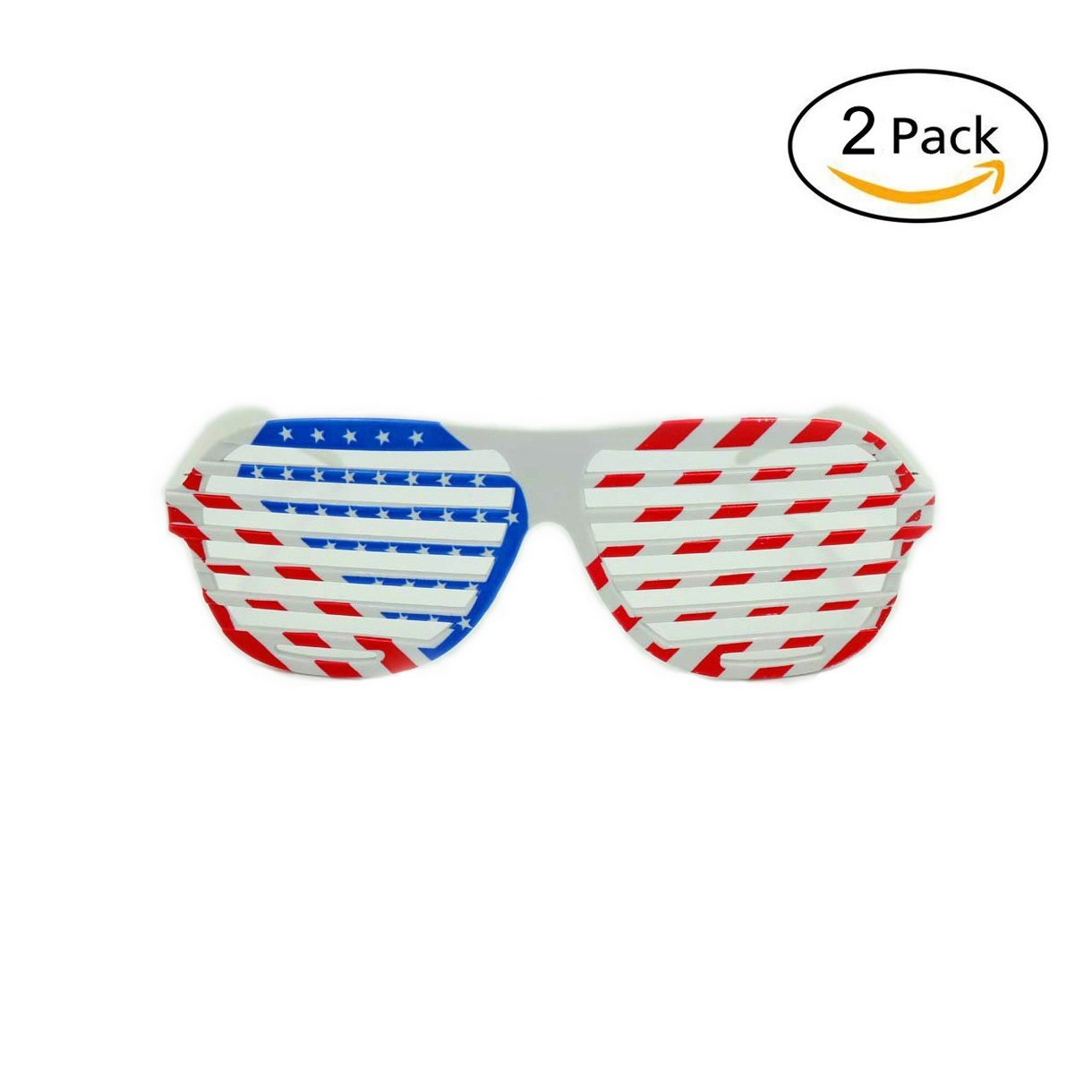 d223bd039827 Get Quotations · American Flag Shutter Shades Sunglasses Party Props Glasses