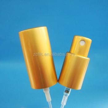 13/415 15/415 18/415 Matte Gold Metal Mist Spray Pump,Aluminum ...