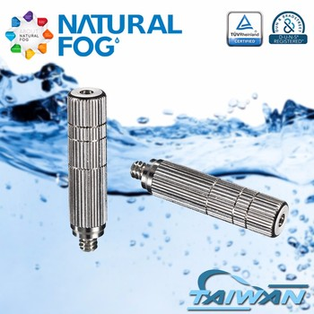 Taiwan Natural Fog Outdoor Patio Cooling Stainless Steel Mist Nozzle