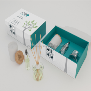 soy wax candle box reed diffuser packaging box