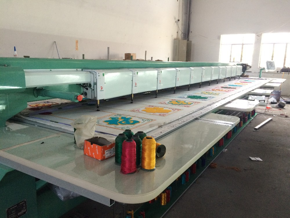 612 towel embrodiery machine